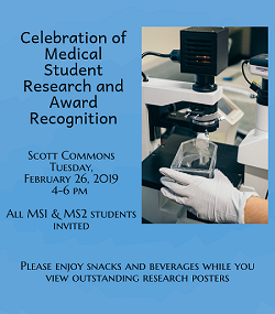 Celebration of Medical Student Research