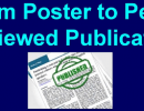 from poster to peer reviewed publication
